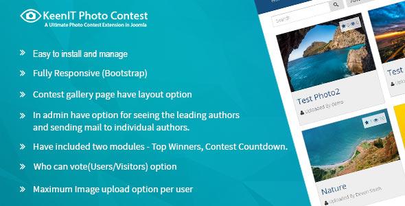 Photo Contest Joomla Extension (codecanyon)